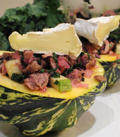 Autumnal Stuffed Squash